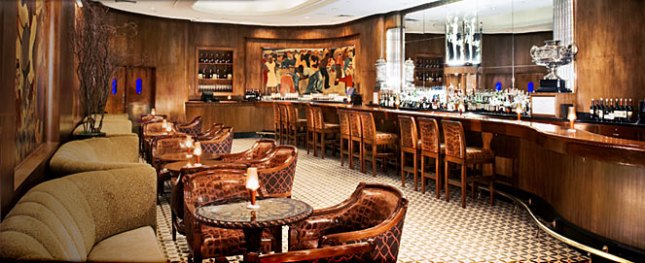 The Sazerac Bar in the Roosevelt Hotel, New Orleans